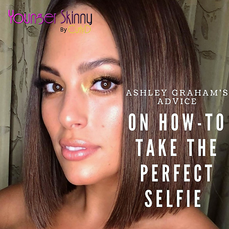 Ashley Graham's Advise, Ashley Graham's Advice On How-to Take The Perfect Selfie